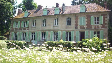 Jardin du château de Sacy